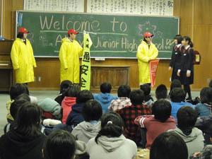 生徒会の説明会
