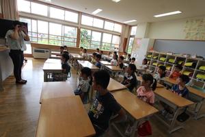 2学期のスタート 明るい声が校舎に響いています