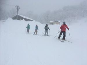 5年生 スキー教室②