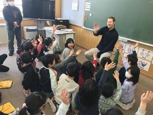 3・4年生 外国語活動の体験授業