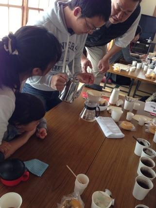 コーヒーセミナー@古川