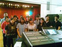 音響を担当する専門学校デジタルアーツ仙台を訪問しました