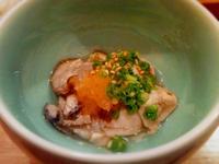和食とワイン「小太郎」沖縄県那覇市牧志…牡蠣の塩辛