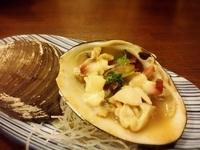 特大ほっき貝のバター焼き