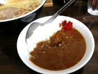 中華そばセット(ミニカレー)…青葉区小田原ホームラン食堂