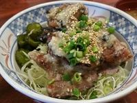 塩麹炭火焼豚丼‥‥ご飯抜き(≧▽≦)