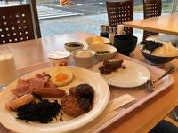 朝食バイキング・・・・名古屋市内のホテルにて