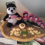 なんでパンダ?店