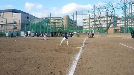 初練習試合