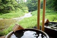 川の湯「陶器風呂」
