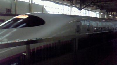 新幹線ですること。