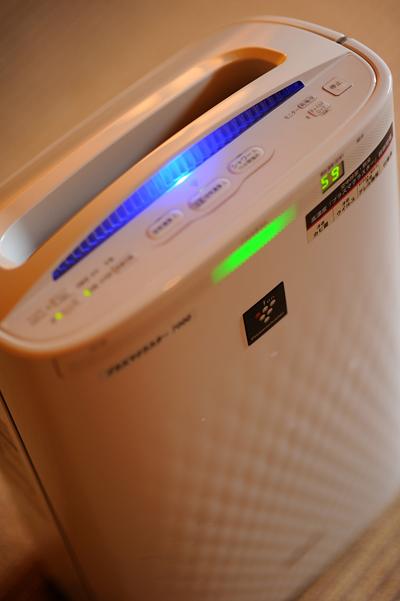 愛隣館冬も快適、空気清浄機全室完備!