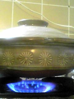 土鍋炊飯に挑戦!
