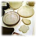 陶うつわ展 中平美彦の炭化白釉の器