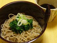モロヘイヤ蕎麦