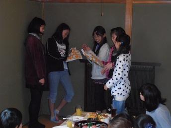 チーム2012卒団式