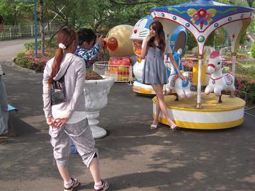 仙台のモデルさんがベニーで撮影