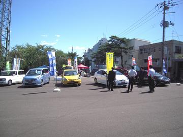オリックス自動車展示会