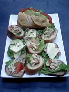 月に一度はパンで夕ご飯。