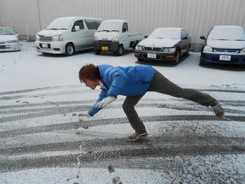 ☆雪寒い☆