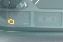 BMW E46 エンジンチェックランプ点灯