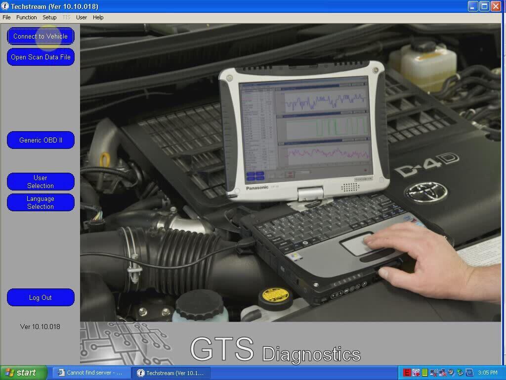 無料にToyota Tecshtream V10.10.018 ソフトウェアをダウンロードする