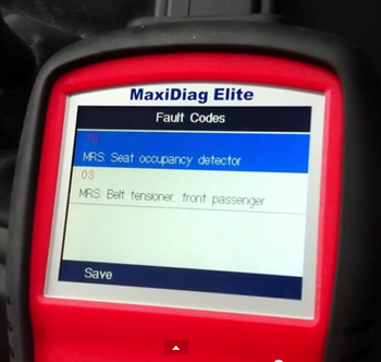 必要な知識―Autel Maxidiag Elite MD802 スキャナーでBMWE46エアバッグライトをリセット