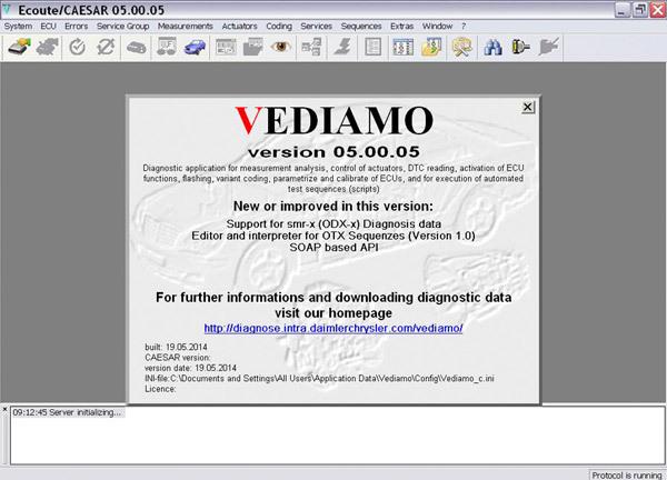 無料よ!Vediamo V5.00.05セットアップ、パッチ、データベースとユーザーマニュアル