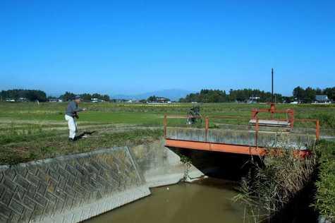 栗駒山と釣り