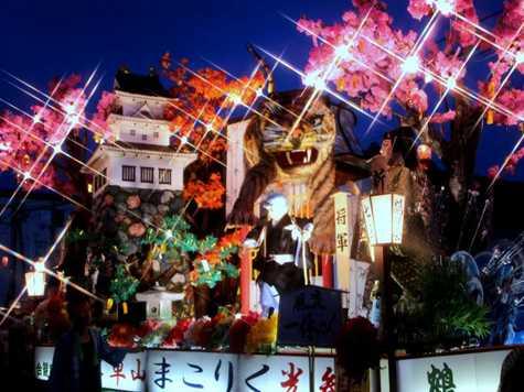 栗駒山車祭り2