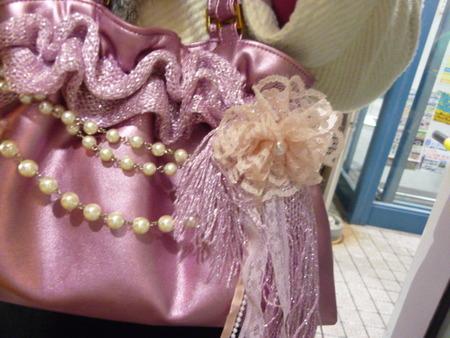 ピンクのBagのプレゼント☆