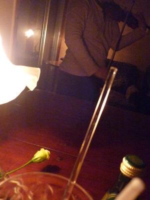 夜景とバイオリン♪