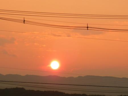 遠い、遠い、夕焼け空