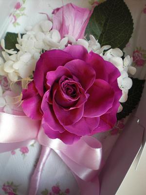 ピンクの薔薇の。。。