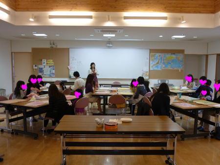 仙台白百合学園小学校でカラーセラピー