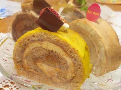 Roll Madu のロールケーキ♪