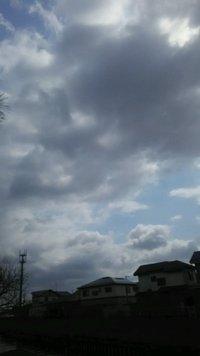 曇り空と誘惑。