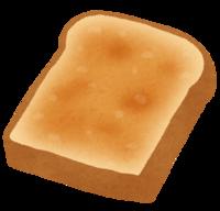 こんがりトーストは今日もバテている。
