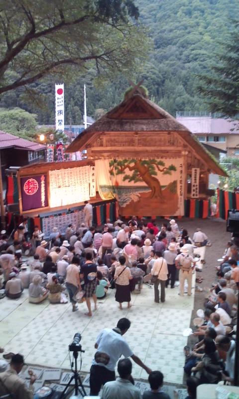 今年の夏は檜枝岐のお祭り行ってきました。