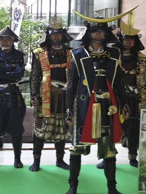伊達武将隊横浜出陣