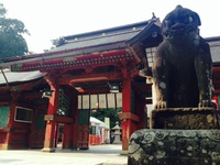 月曜の午後、塩竈神社にて。 2014/08/05 07:30:00