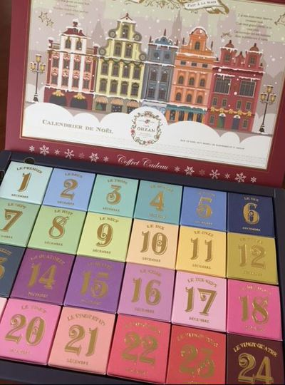 ☆クリスマスキューブカレンダー☆