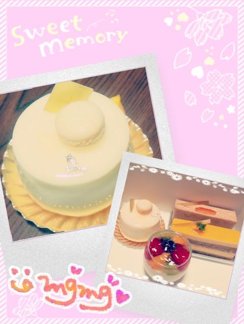 ご褒美ケーキ(♡ˊ艸ˋ)むふッッッ♬*
