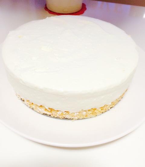 レアチーズケーキ♥