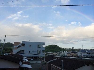 虹・・・☆彡
