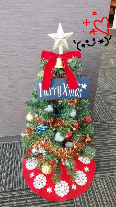 クリスマスツリー♪