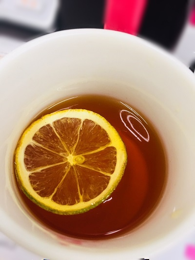 FLOAT LEMON TEA(´∀`)ノ