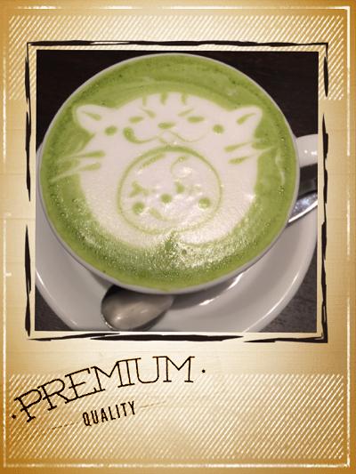 抹茶ラテ゜.+.(♥´ω`♥)゜+.゜