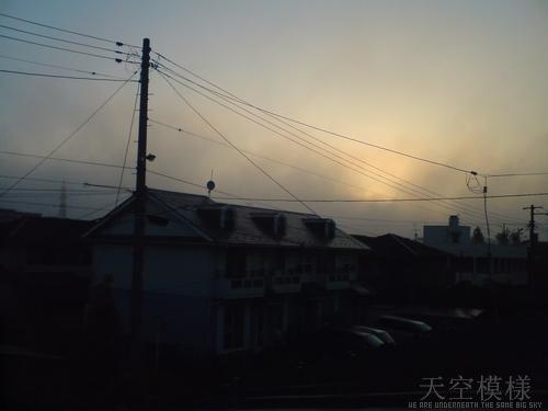 天空模様/葉月#5 立秋の空