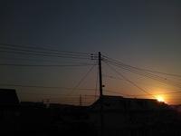 天空模様*ある朝に